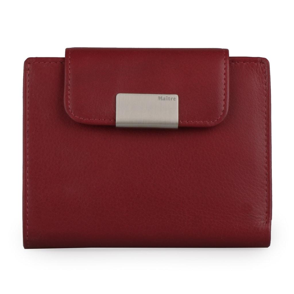 Elegantní a praktická kožená peněženka od německé značky Maitre. 984689d842