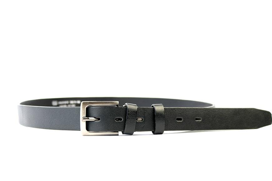 Penny Belts Opasek do obleku penny belts 30-100 černý