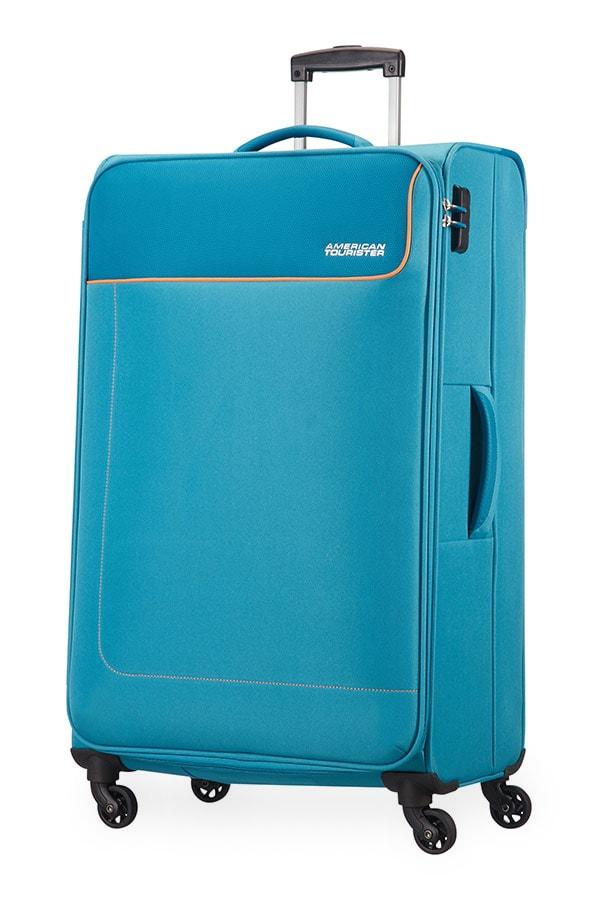 American Tourister Cestovní kufr Funshine Spinner 20G 99,5 l - světle modrá