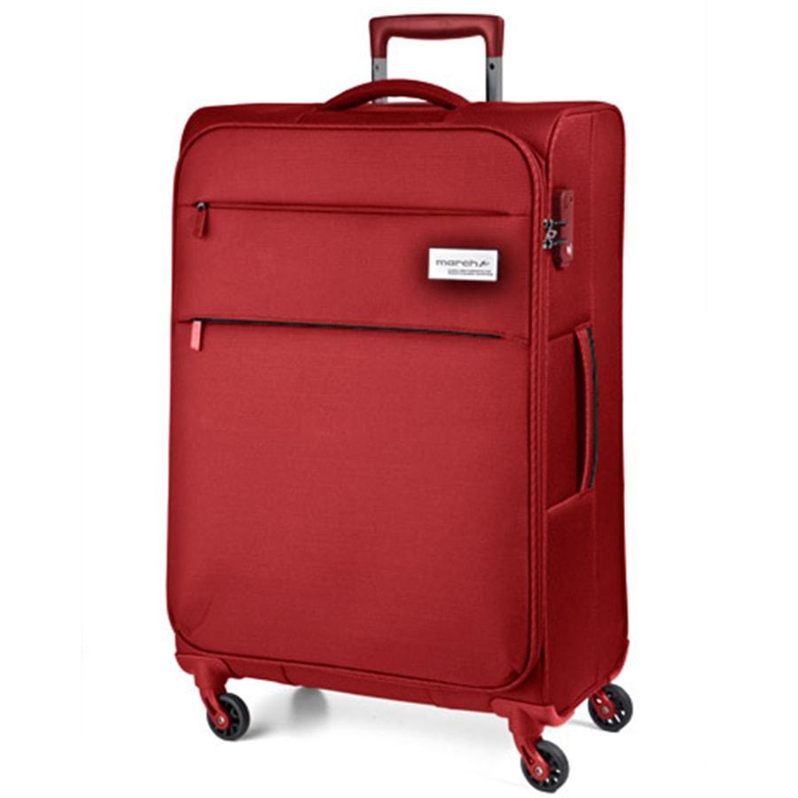 March Velký cestovní kufr Polo 108 l - červená