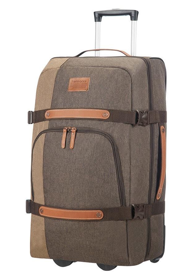 Samsonite Cestovní taška na kolečkách Rewind Natural 72,5 l - šedá