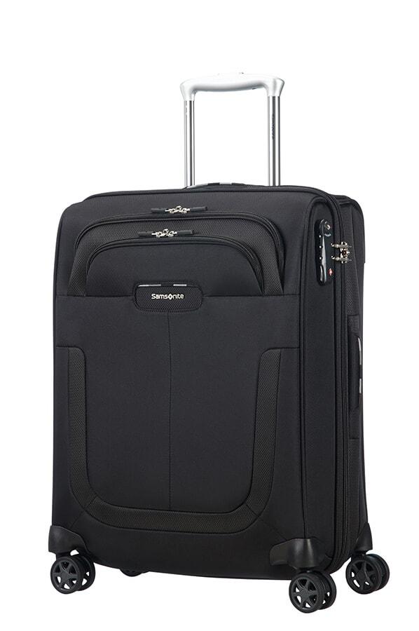 Samsonite Kabinový cestovní kufr Duosphere 40,5/48,5 l - černá