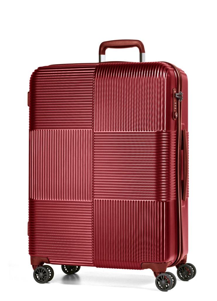 March Cestovní kufr Avenue 69 l - červená