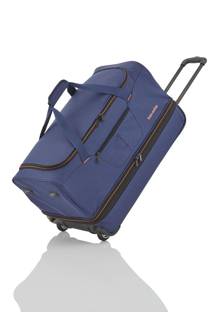 Travelite Travelite Basics Wheeled duffle L Navy/orang