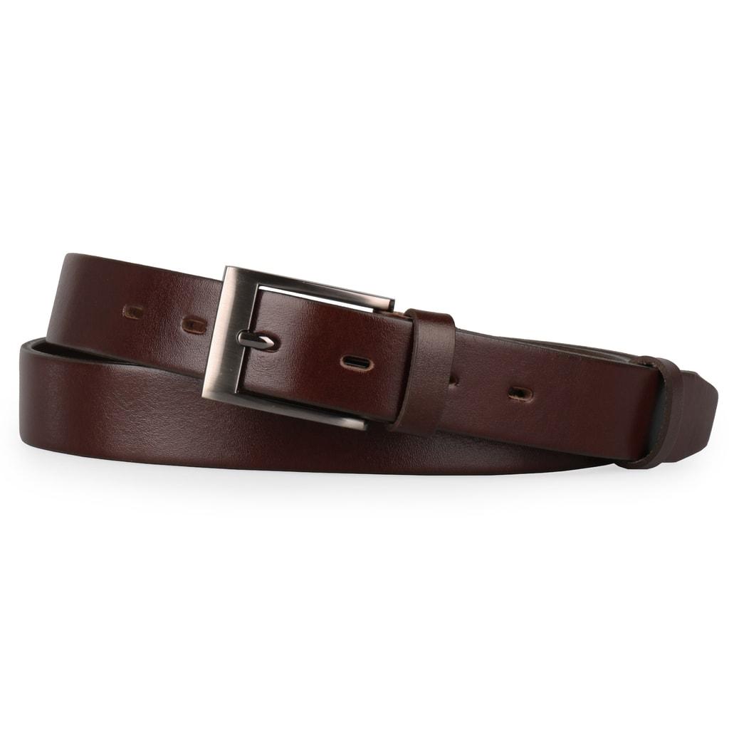 718569c169b Elegantní pánský kožený opasek v nadměrné velikosti od české značky Penny  Belts.