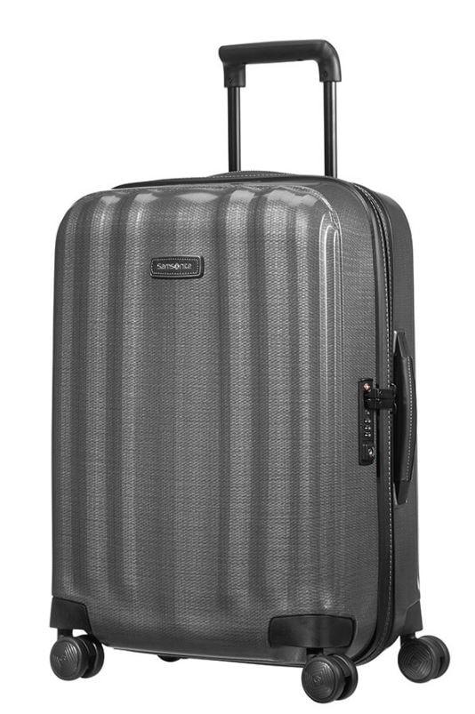Samsonite Kabinový cestovní kufr Lite-Cube DLX Spinner 82V 43,5 l - šedá
