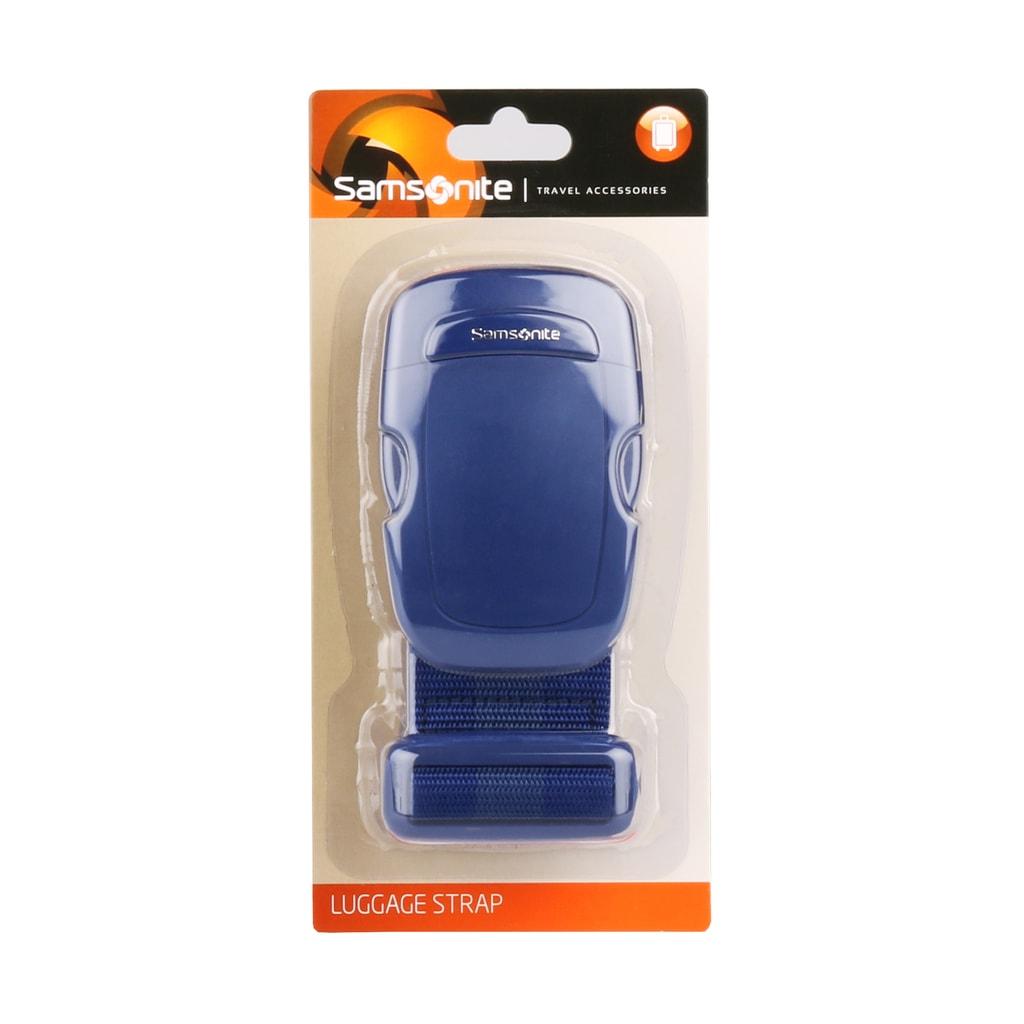 Samsonite Popruh na kufr U23, modrý