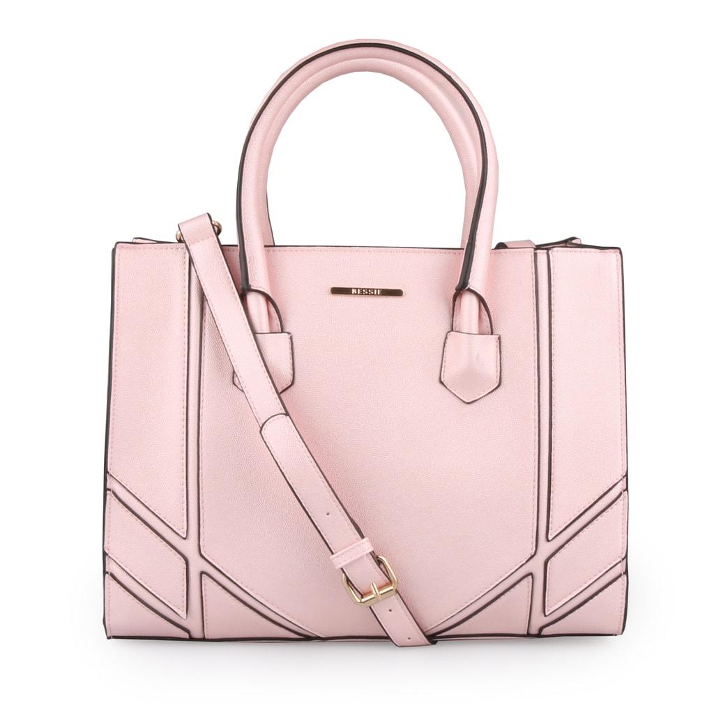 Bessie London Dámská kabelka přes rameno BW3203 - růžová