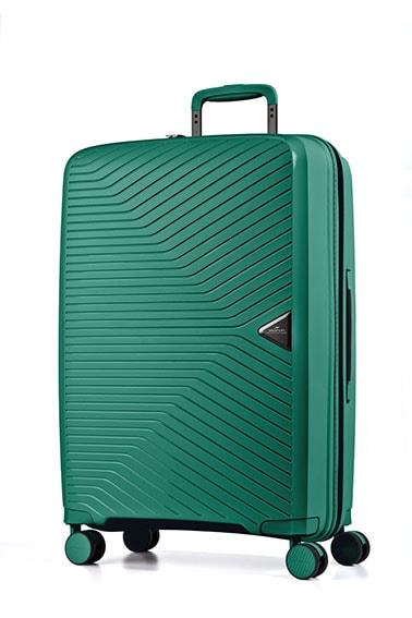 March Cestovní kufr Gotthard 111 l - zelená