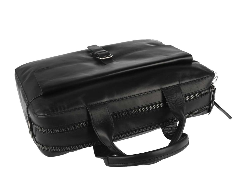 Kožená aktovka Scott - čierna - Strellson - Aktovky - Pánske tašky ... 9a26b12c15c
