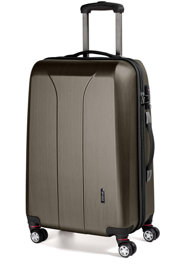 March Cestovní kufr New Carat 105 l - bronzová