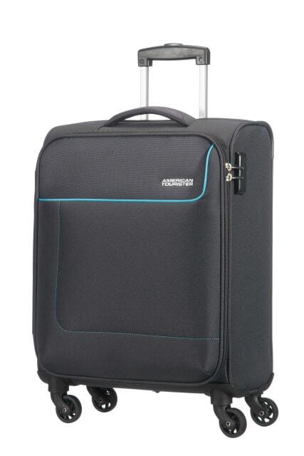 American Tourister Cestovní kabinový kufr Funshine 36 l - černá