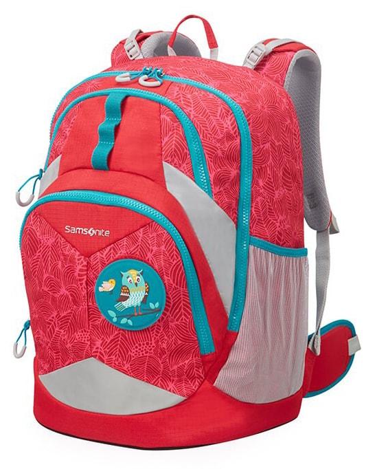 7768013728d Samsonite Školní batoh Sam Ergofit L CH1 24 l - jungle red