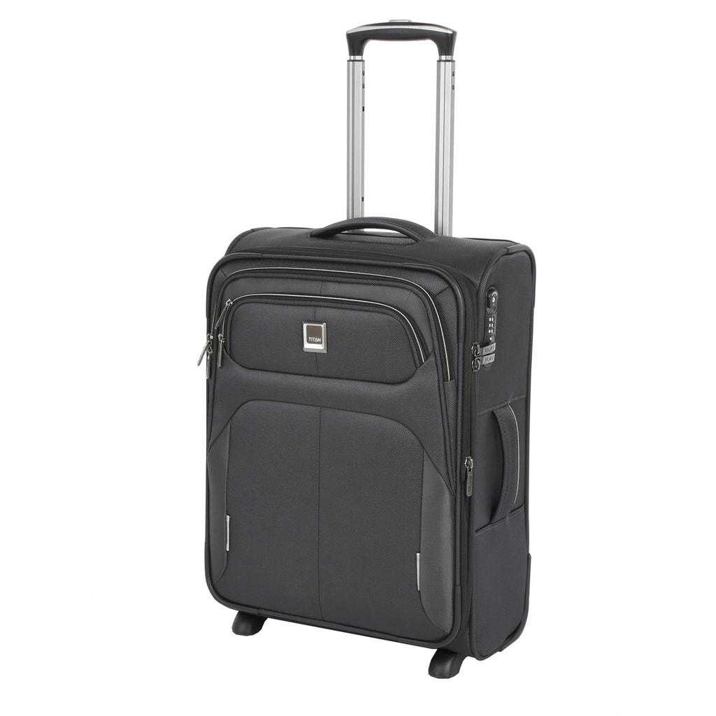 Titan Kabinový cestovní kufr Nonstop 44/53 l P38334 šedá