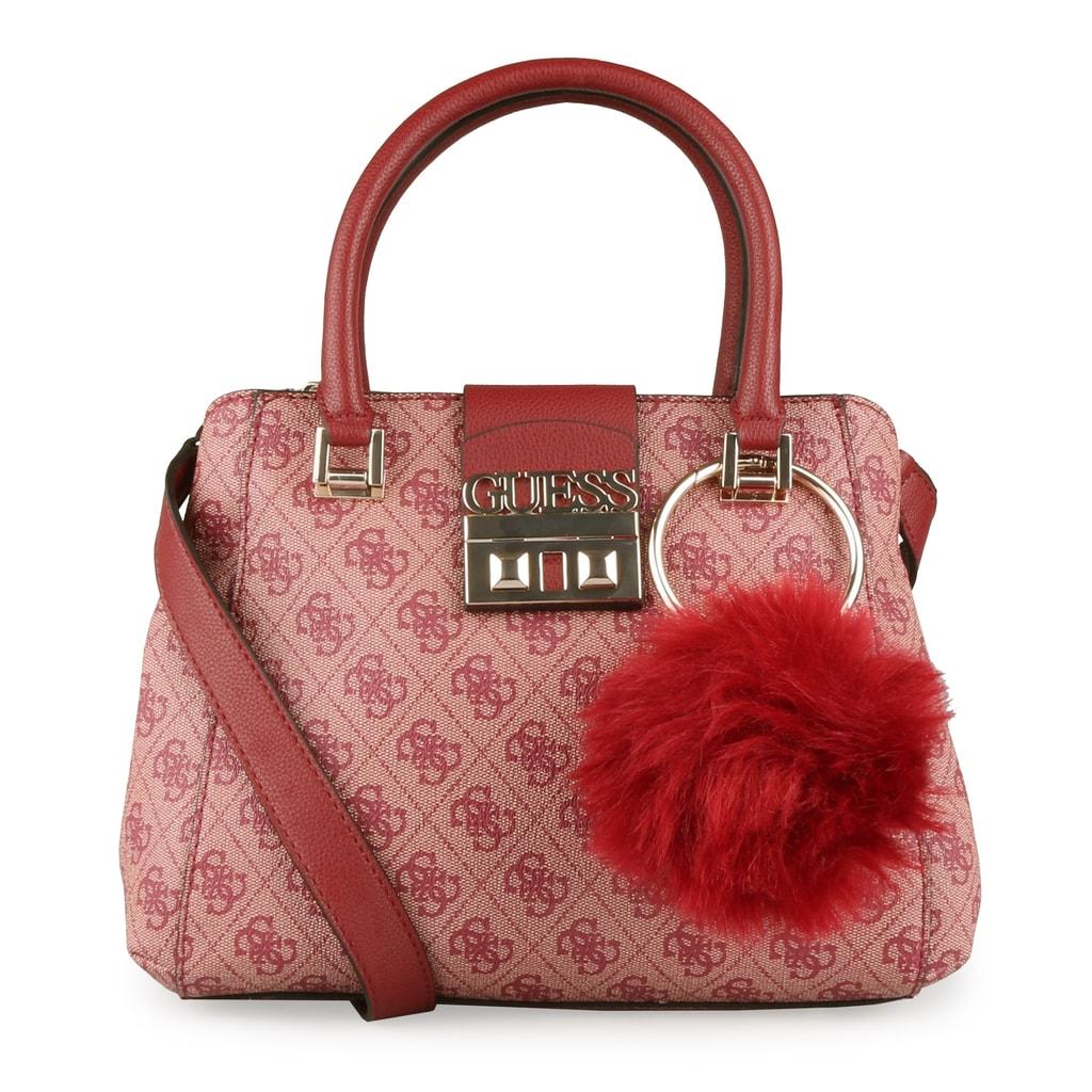 GUESS Dámská kabelka Logo Luxe HWSG7102050 - červená