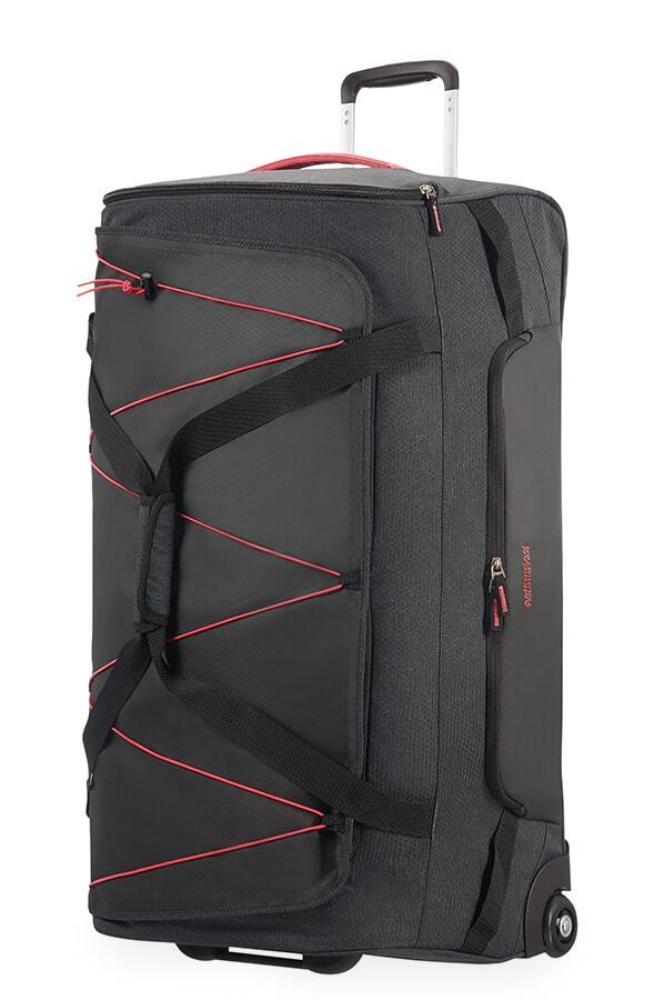 American Tourister Cestovní taška Road Quest 16G 114 l - tmavě šedá/růžová
