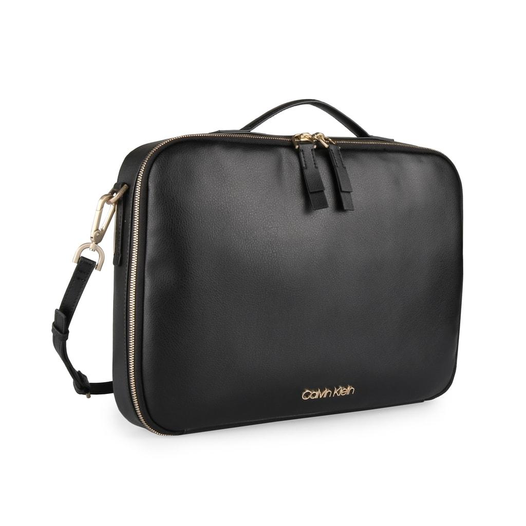 Calvin Klein Dámská taška na notebook Frame K60K604450 - černá