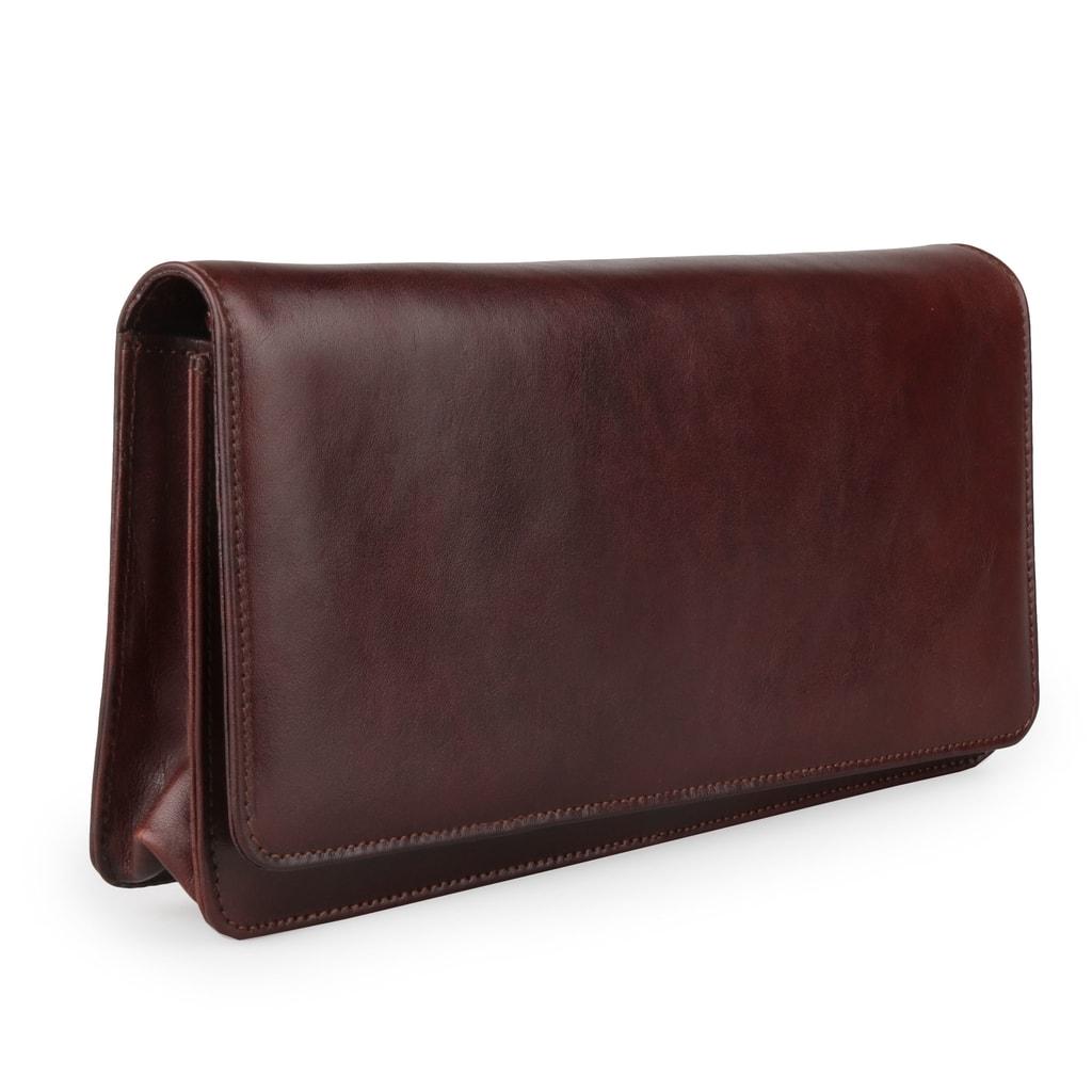 Dámska kožená listová kabelka 1008214 - Hajn - Listové kabelky ... e5a5b78d468