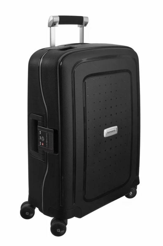 Samsonite Kabinový cestovní kufr S'Cure DLX Spinner U44 34 l - tmavě šedá