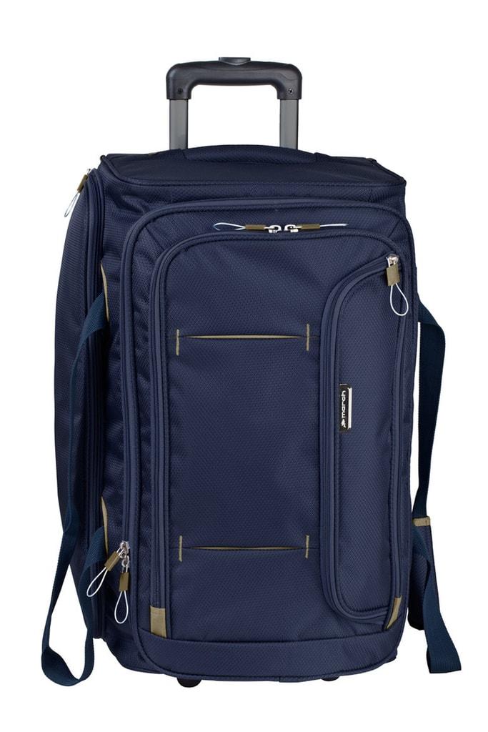 March Cestovní taška Gogobag 73 l - modrá
