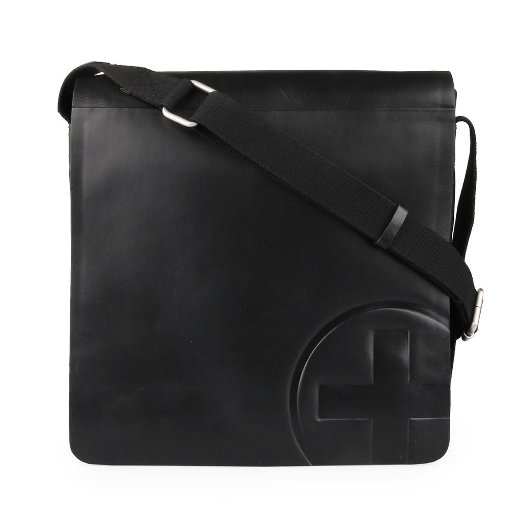 Strellson Pánská kožená taška Jones 4010002363 - černá