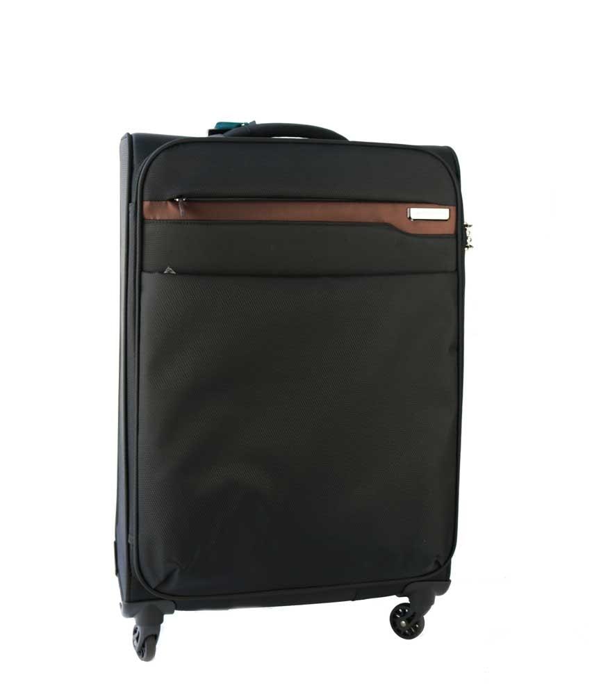 March Velký cestovní kufrm Lite 107 l - hnědá