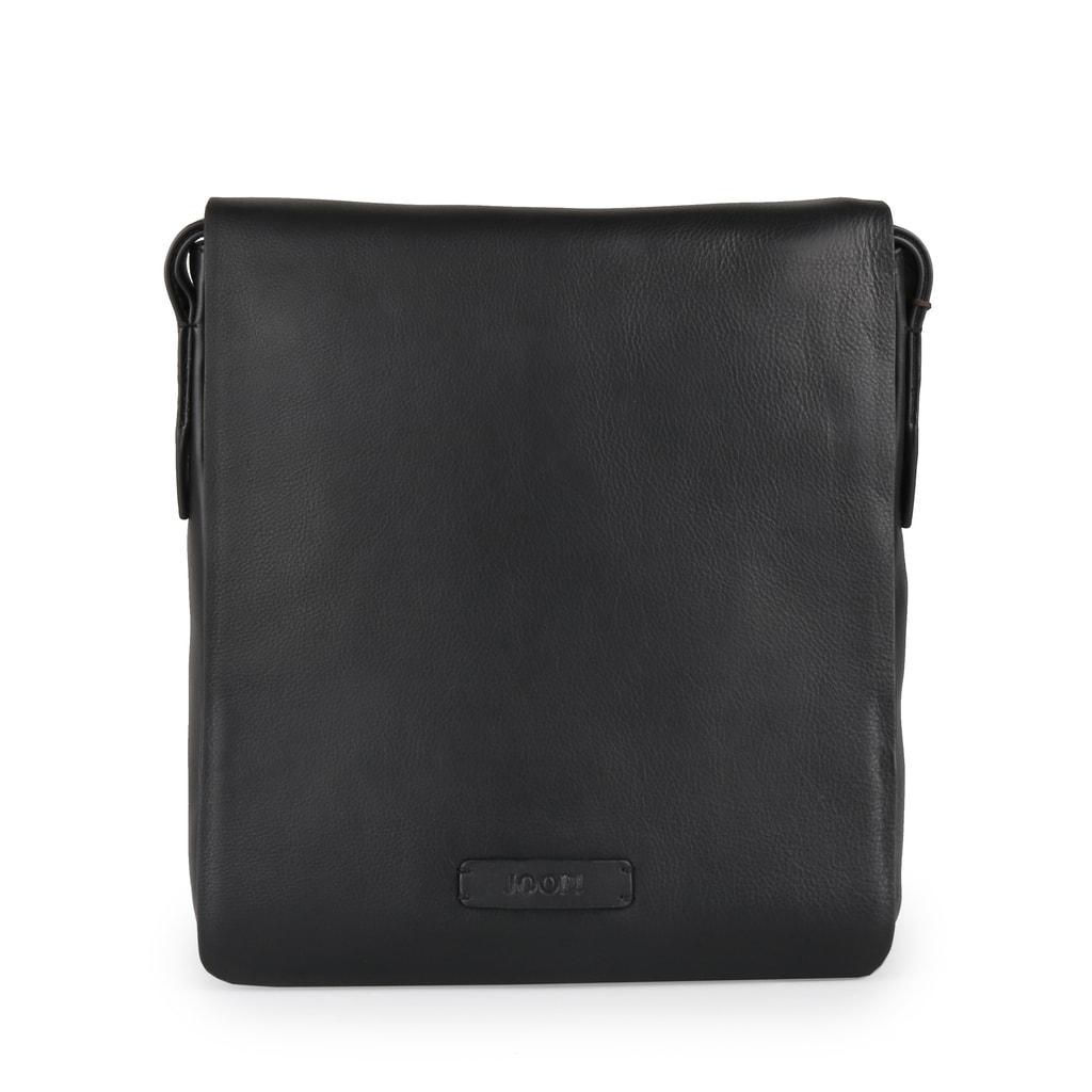JOOP! Pánská kožená taška přes rameno Vetra Paris 4140004073 - černá