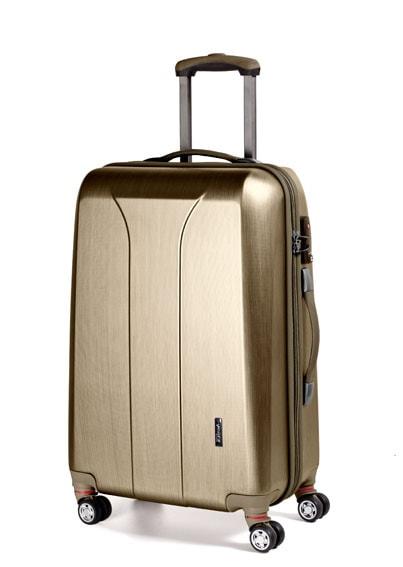 March Velký cestovní kufr New carat 110 l - zlatá