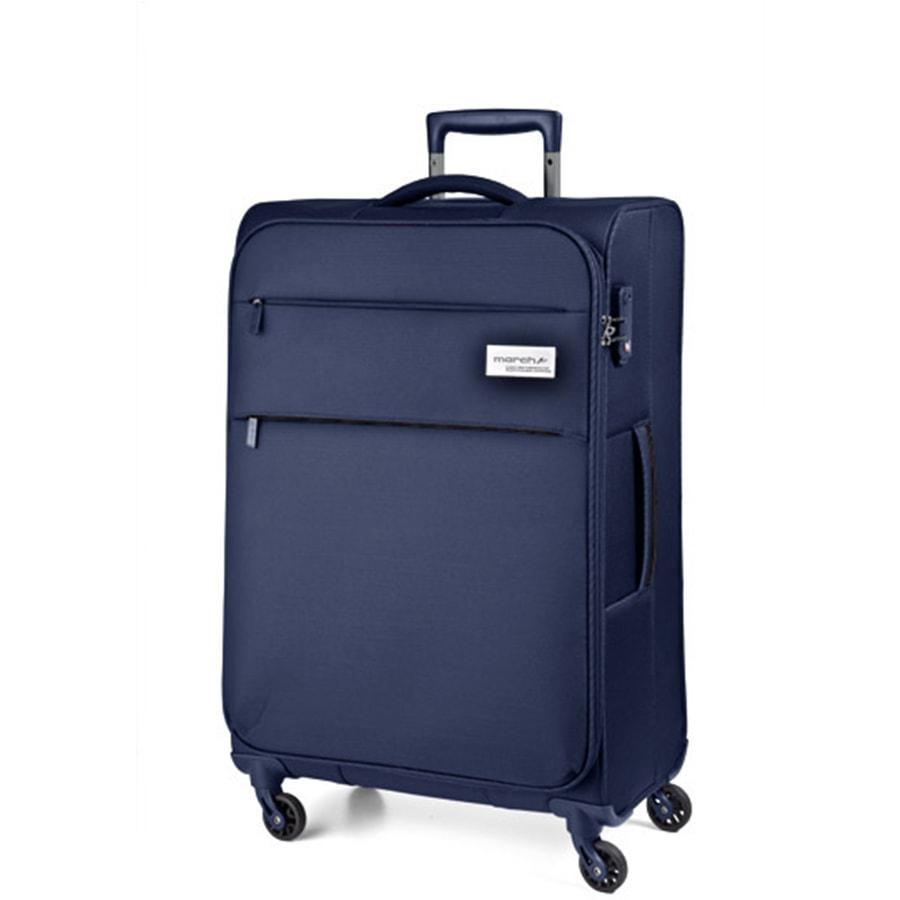 March Střední cestovní kufr Polo 79,0l - modrá