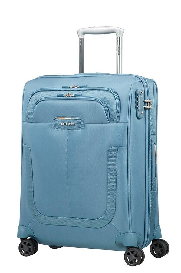 Samsonite Kabinový cestovní kufr Duosphere 40,5/48,5 l - světle modrá