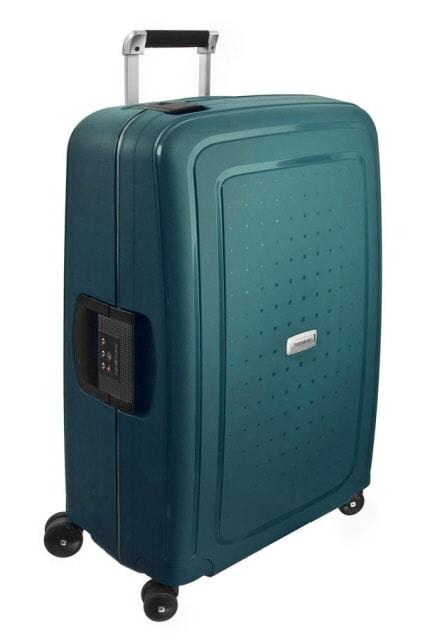 Samsonite Cestovní kufr S'Cure DLX Spinner U44 79 l - zelená