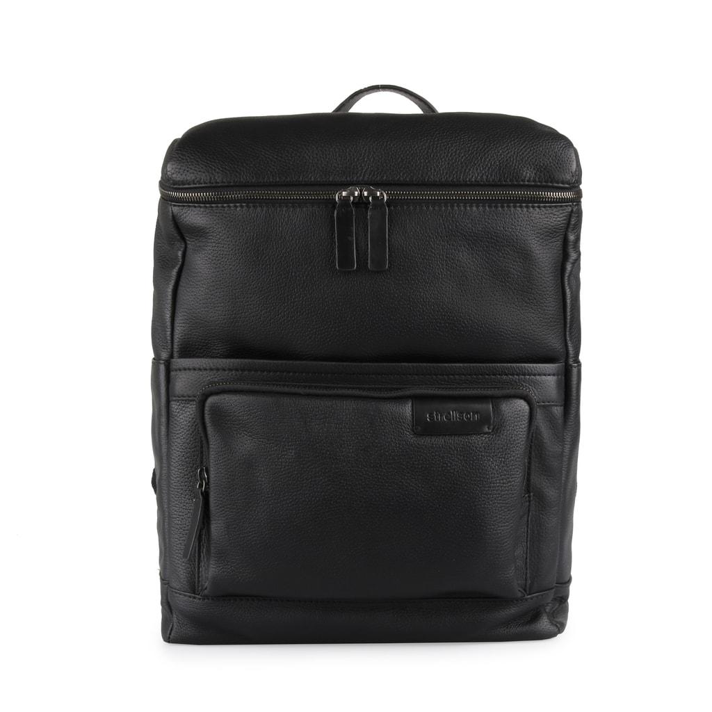 58b73efb292 Pánský kožený městský batoh Garret 4010002353 11 l - Strellson ...