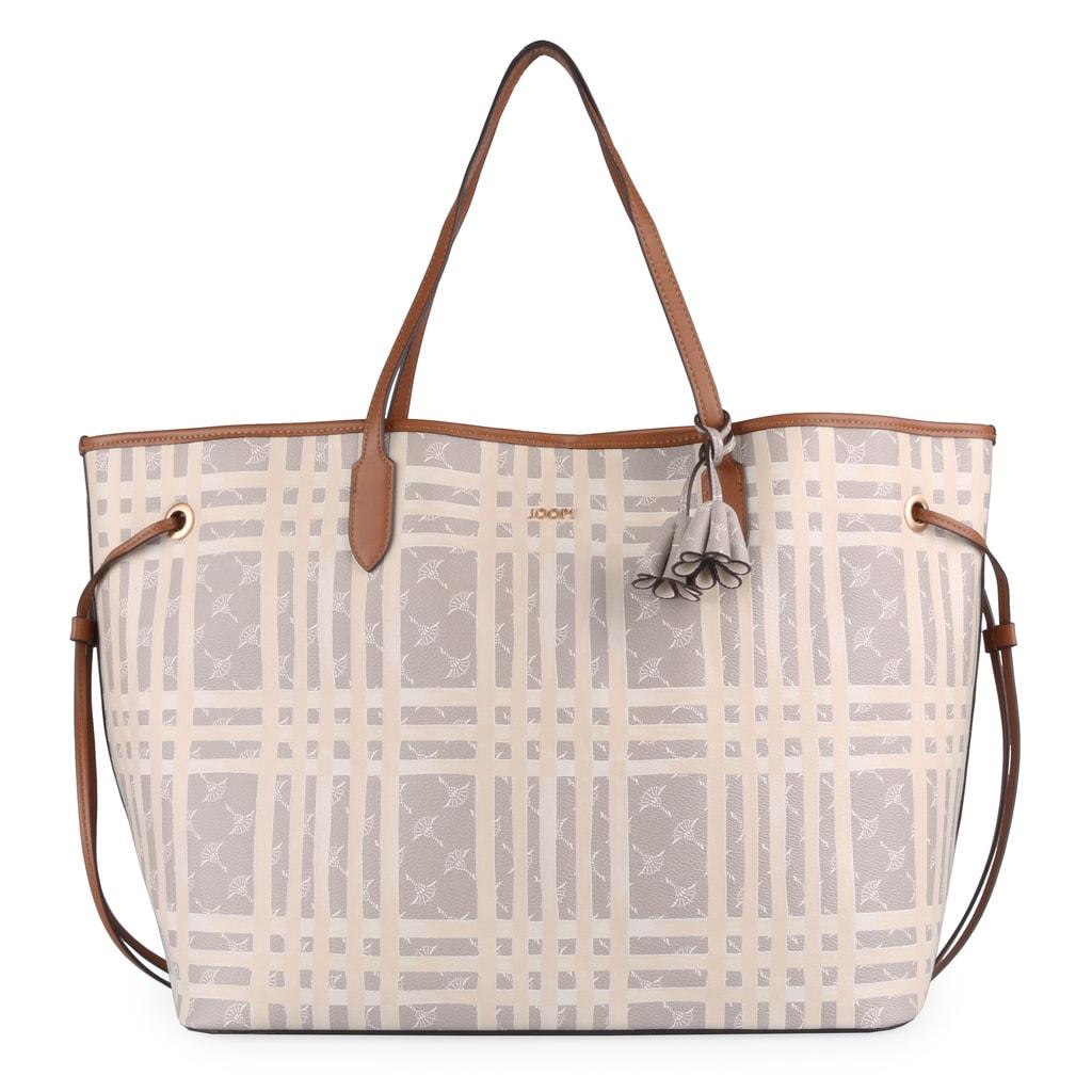 Maximálně prostorná dámská shopper kabelka z nové kolekce Cortina Cheque od  německé značky JOOP! f7f533c85ec