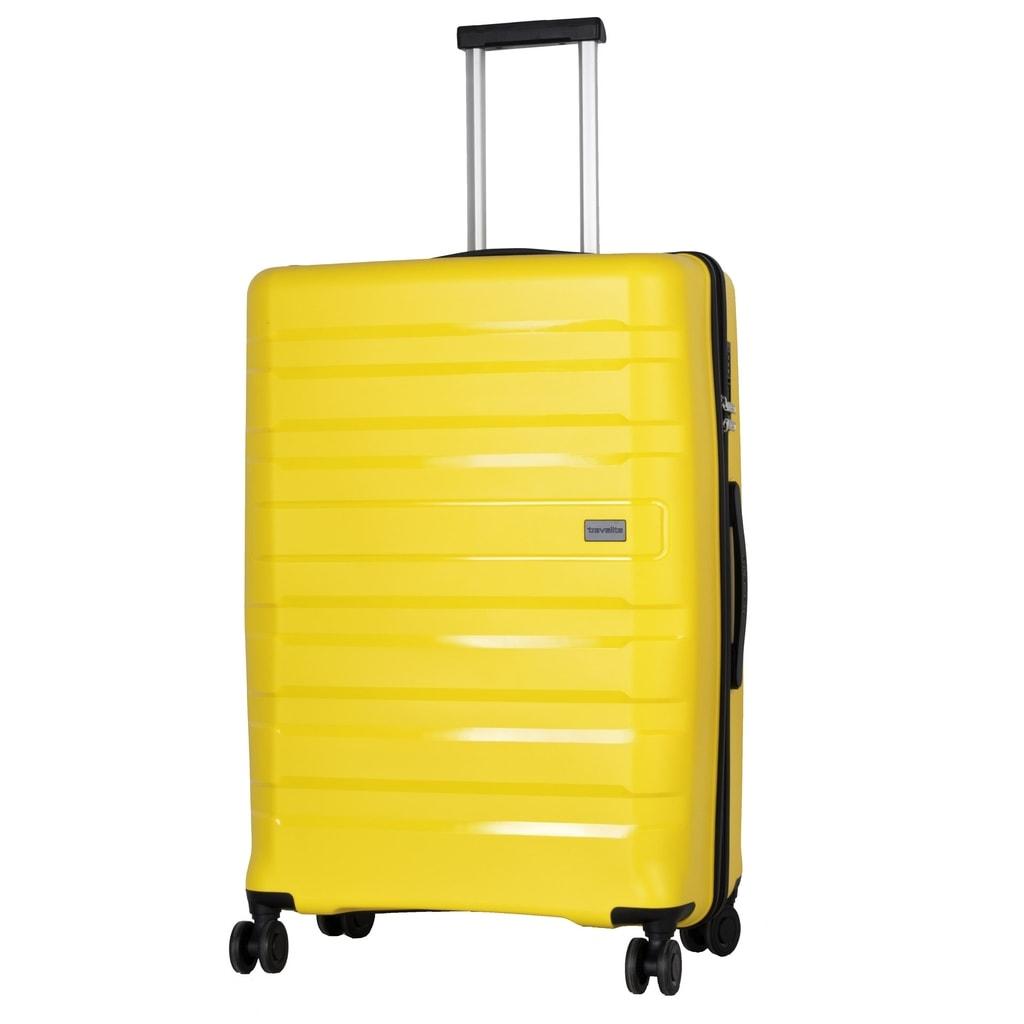 Travelite Cestovní kufr Kosmos 4w L Yellow 102 l