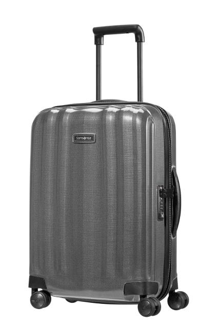 Samsonite Kabinový cestovní kufr Lite-Cube DLX Spinner 82V 36,5 l - šedá