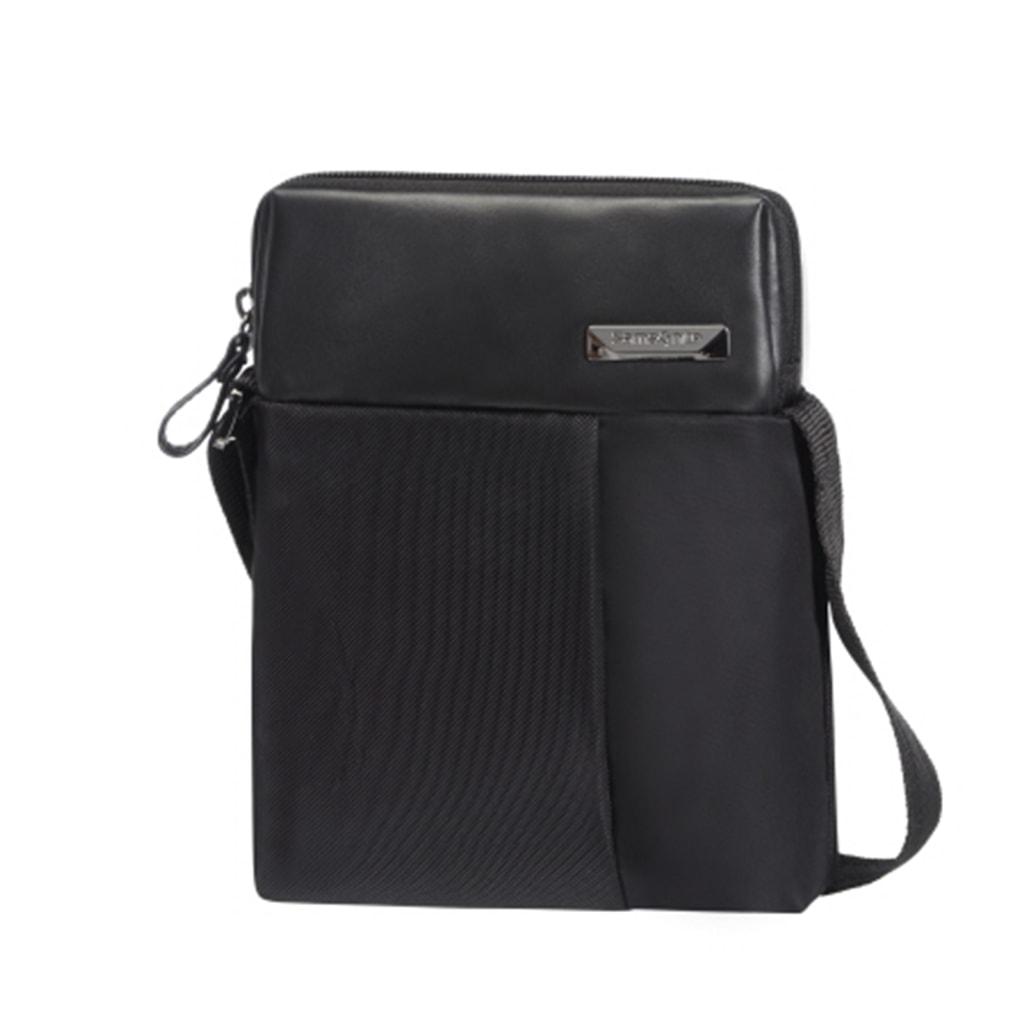 Samsonite Pánská taška přes rameno HIP-TECH 49D-001 - černá