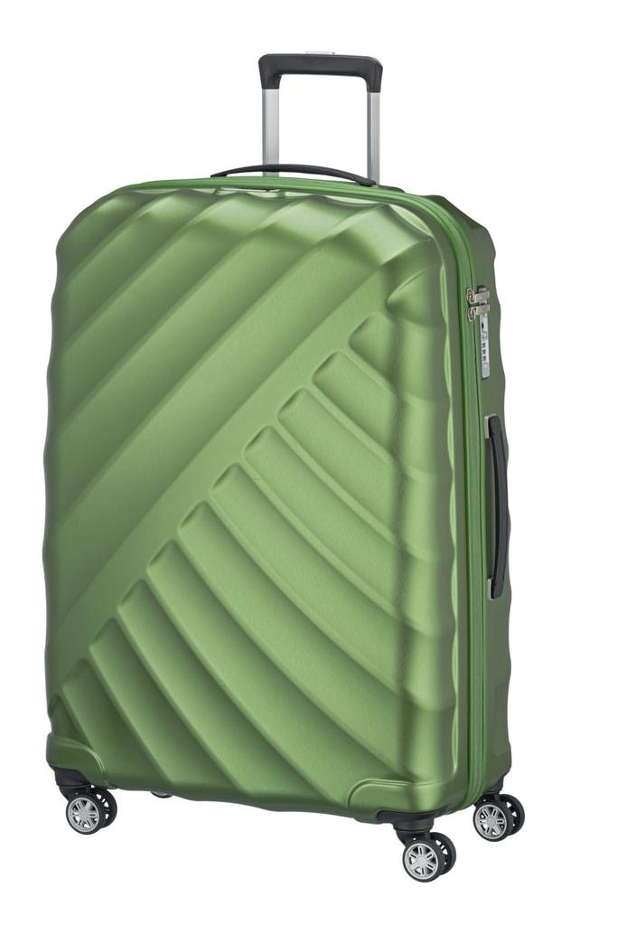 Titan Cestovní kufr Shooting Star 4w L Green 828404-80 109 l