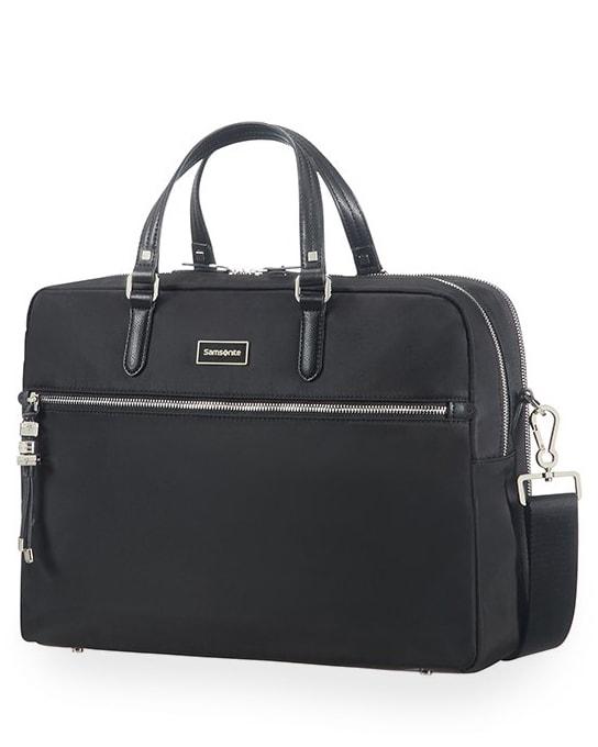 """Samsonite Dámská taška na notebook Bailhandle 2 Comp Karissa Biz 15.6"""" - černá"""