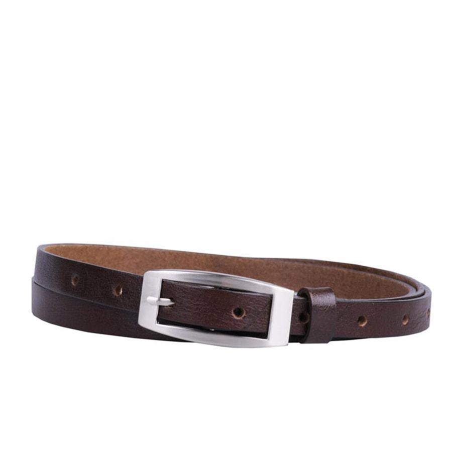 Penny Belts Dámský kožený opasek Penny Belts 15-2, hnědý