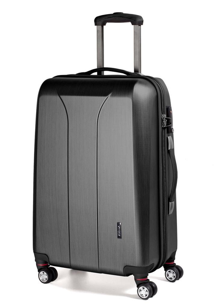 March Cestovní kufr New Carat 72 l - černá