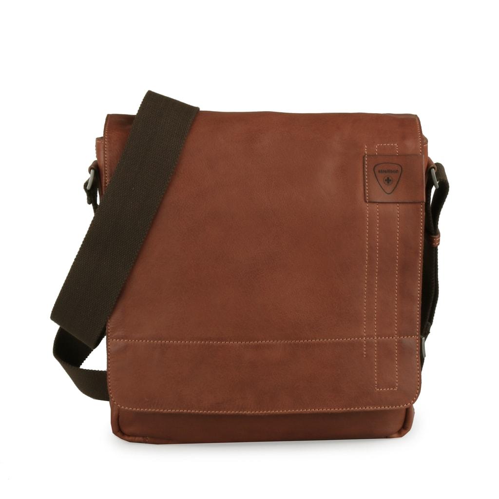 Strellson Pánská taška přes rameno Upminster 4010001925 - hnědá