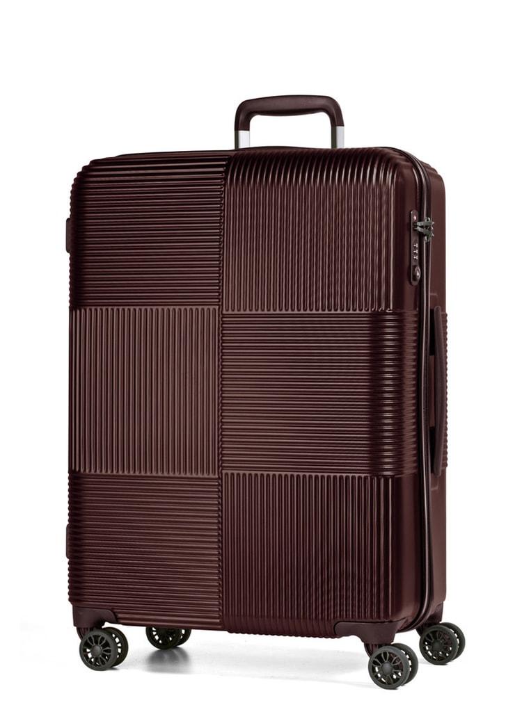 March Cestovní kufr Avenue 69 l - hnědá