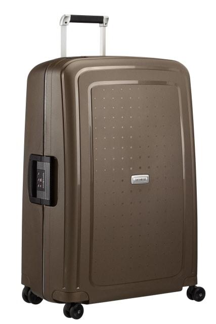 Samsonite Cestovní kufr S'Cure DLX Spinner U44 102 l - bronzová