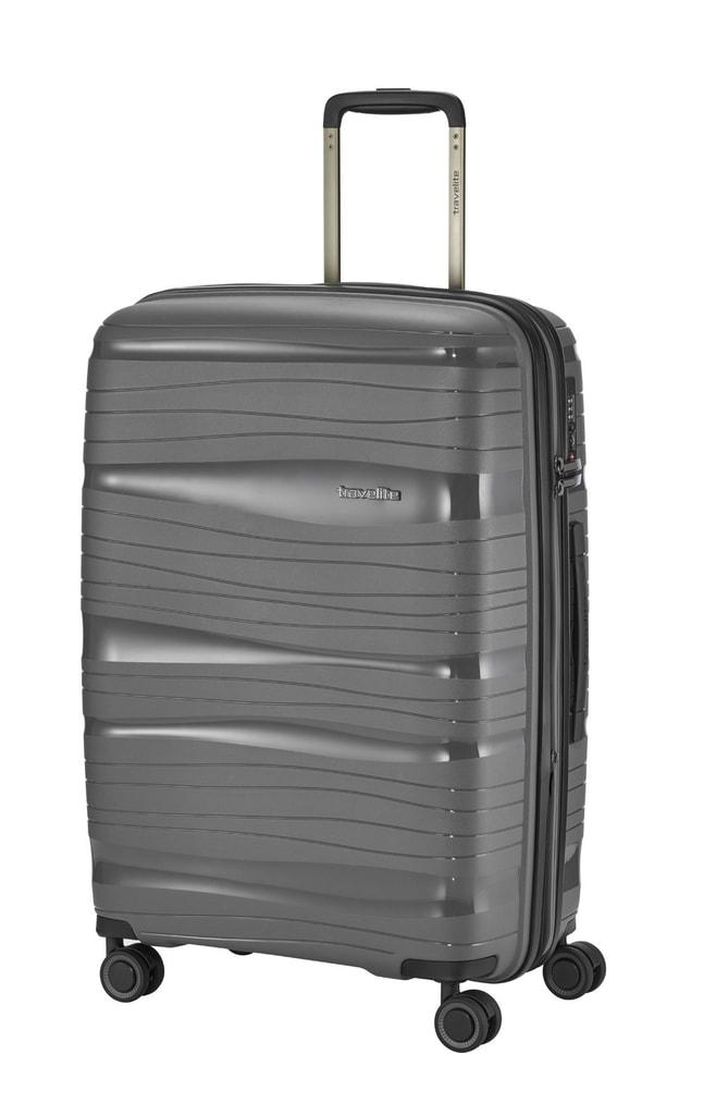 Travelite Cestovní kufr Motion M Anthracite 71/82 l