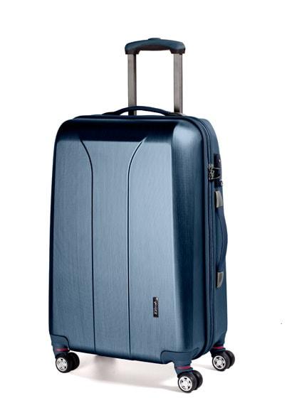 March Střední cestovní kufr New carat 76 l - modrá