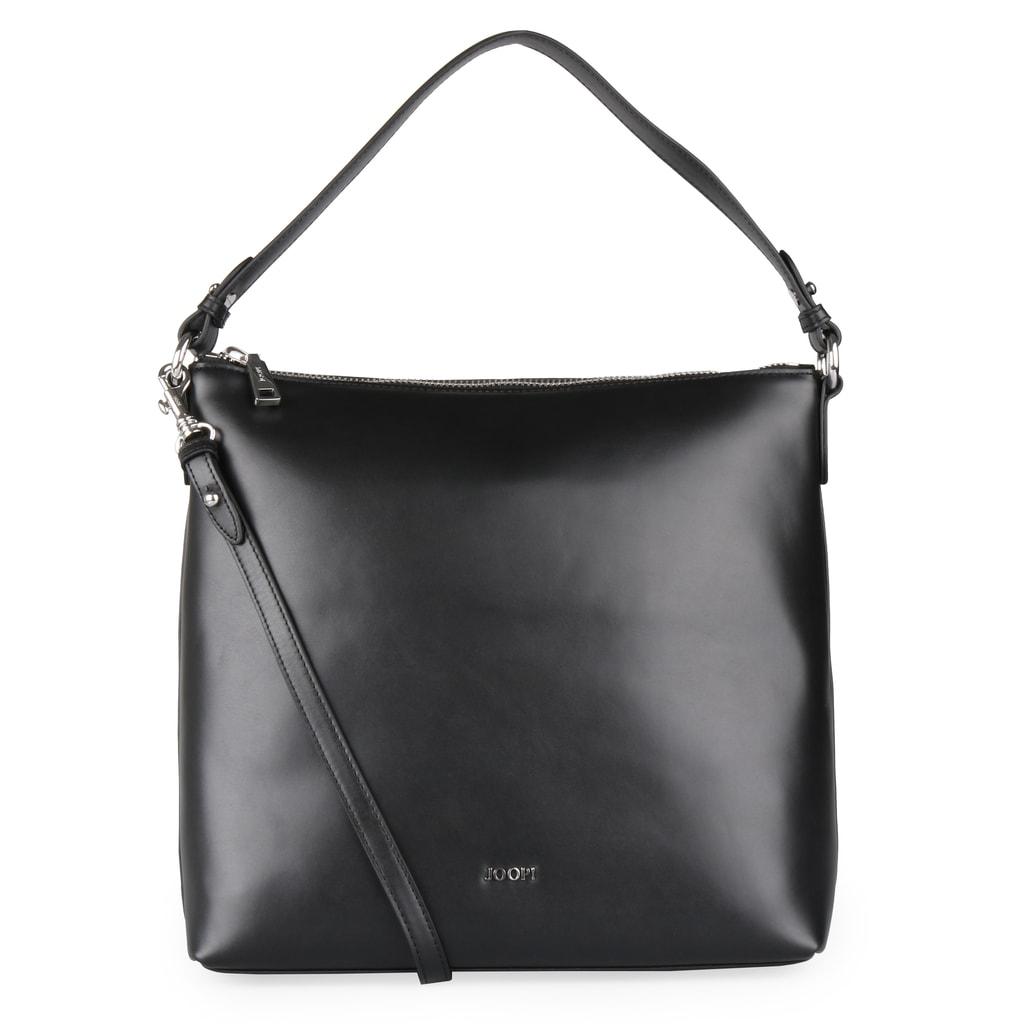 Dámská kožená kabelka přes rameno Nausica Estia 4140004370 - černá 54c2428547b