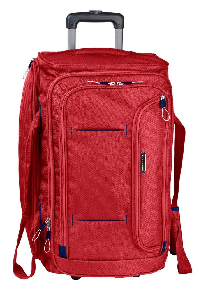 March Cestovní taška Gogobag 102 l - červená