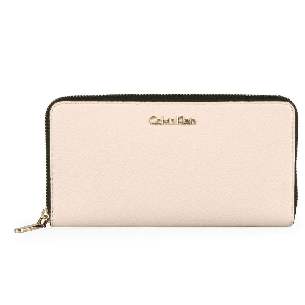 3b0e52d737 Calvin Klein Velká dámská peněženka Neat Large K60K605101 - béžová