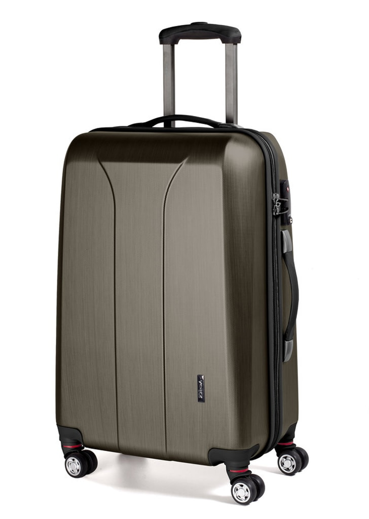March Cestovní kufr New Carat 72 l - bronzová