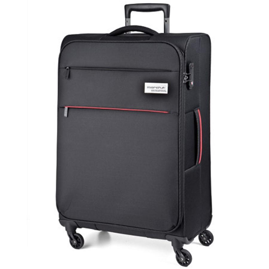 March Velký cestovní kufr Polo 108 l - černá